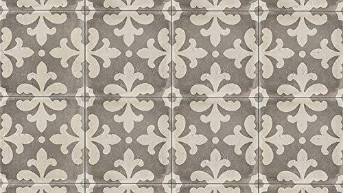 - 11-7/8 x 11-7/8 Palace 12 x 12 Tile in Vintage Grey Florentina, 1 SqFt