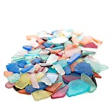 Nautical Crush Trading Assorted Sea Glass for Decoration | Assorted Colored Sea Glass for Craft TM (24 Ounces)