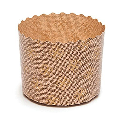 Welcome Home Brands Panettone Baking Cups, 2.4''d x 1.75''h, Case/2000 by Welcome Home Brands