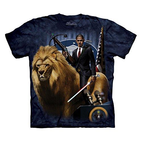 The Mountain President Obama T-Shirt - Small