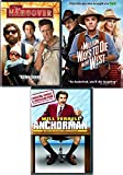 Bachelor Cowboy Party Ron Burgundy Anchorman DVD & Million Ways to Die & Hangover Comedy Collection Movie Set