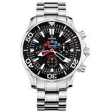 Omega Men's 2569.52.00 Seamaster 300M Racing Automatic Chronometer Chronograph Black Dial Watch