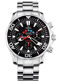 Omega Men's 2569.52.00 Seamaster 300M Racing Automatic Chronometer Chronograph Black Dial Watch
