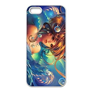 Anime Mermaid iPhone 4 4s Cell Phone Case White SUJ8477690