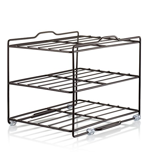 Kitchen Wrap Organizer Rack - cabinet organizer for food Wra