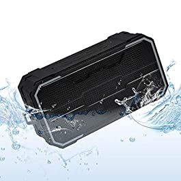Zosam Portable Bluetooth Speaker, IPX6 Waterproof Wireless Speaker with 10W HD Stereo Sound, Rich Bass, 10H Playtime…