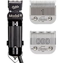 Oster Model 10 Classic Professional Barber Salon Pro Hair Grooming Clipper With blades Size 000 And 1.
