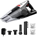 HoLife Handheld Vacuum Cordless 7kp with 21.9V 100W Li-ion Battery Rechargeable Quick Charge Tech and Cyclone Suction Hand Vac