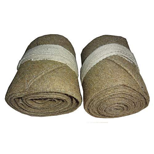 reproduction M526 WWI British Wool Leg Wraps One Pair