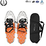 Pansel Light Weight Explore Snowshoes for Men,Women and Kids,Includes Snowshoes Carrying Bag