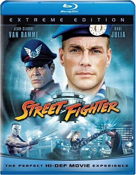 Amazon Com Street Fighter Extreme Edition Blu Ray Jean