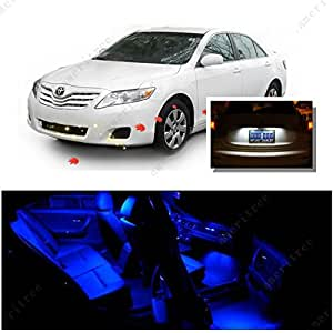 Ameritree Toyota Camry Without Sunroof 2007 2014 8pcs Blue Led Lights Interior