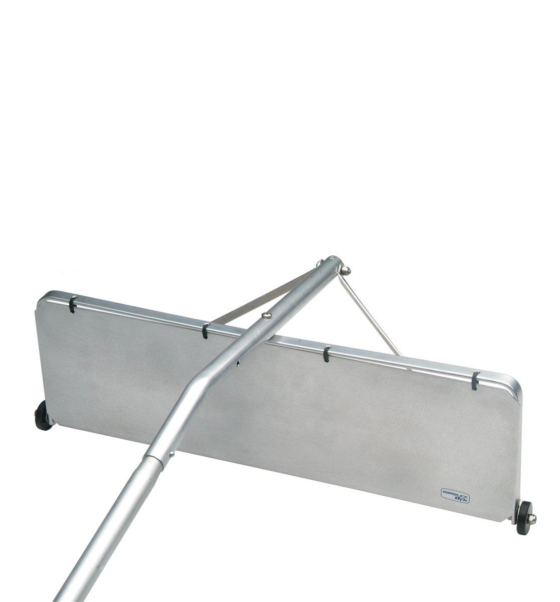 Amazon.com : Garelick 89516 16 Foot Aluminum Snow Trap Roof Rake With  7 Inch By 24 Inch Blade : Garden U0026 Outdoor