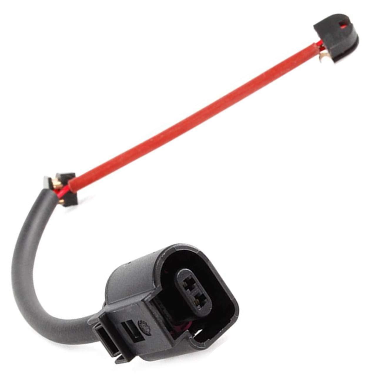 VioletLisa 2pcs Rear Brake Wear Pad Sensor 7L0907637B For 2007-2010 Audi Q7 Sport Utility 2003-2014 Porsche Cayenne Sport Utility 2004-2010 Volkswagen Touareg Sport Utility