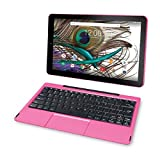 RCA Viking Pro 32gb Quad Core 10.1'' Hdmi Bluetooth Wifi Detachable Keyboard Android 5.0 Lollipop- PINK