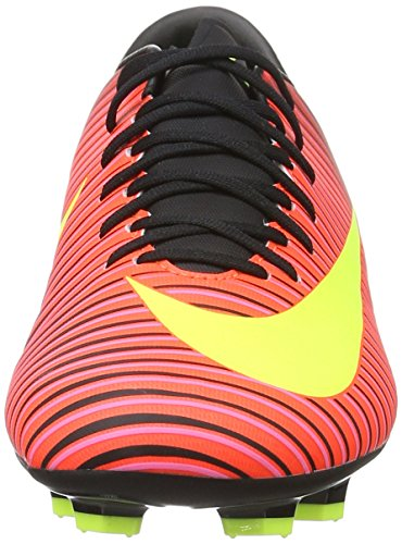 Nike Mercurial Victory Vi Fg, Botas de Fútbol para Hombre Rojo (Total Crimson/Vlt-Blk-Pnk Blst)