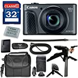 Canon PowerShot SX730 HS Digital Camera with Premium Accessory Kit (Black) including Memory Card, Grip Flexible Table Tripod, HDMI Cable & More.