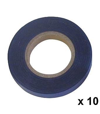 Cinta Atadora PVC 11 x 0,15 mm. x 26 metros Azul (Pack 10 Rollos): Amazon.es: Industria, empresas y ciencia