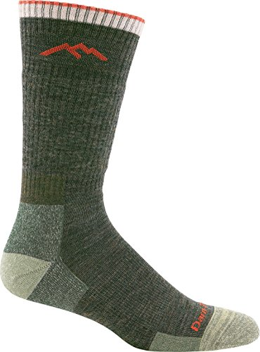 Darn Tough Men's Wool Boot Cushion Sock (Style 1403) - 6 Pack Special Offer (Olive, X-Large)