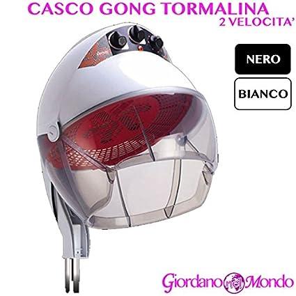 Casco pelo profesional para peluquería y barbería Gong Turmalina 2 velocita Ceriotti