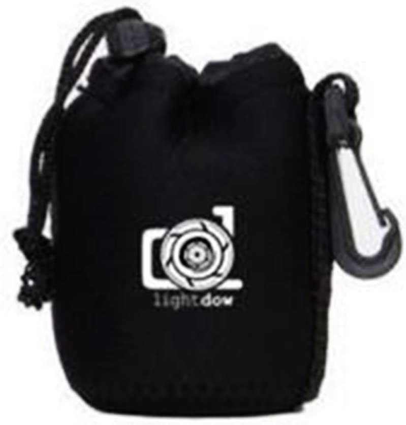 XL 4-in-1 Lens Pouch Thick Neoprene Bag DSLR