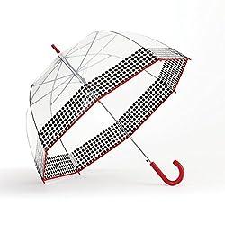Shedrain Bubble Auto Fashion Stick Umbrella, Yippyred, One Size
