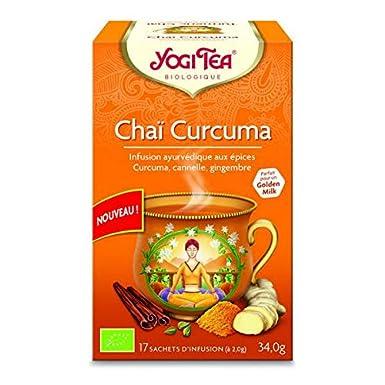 Yogi Tea - Chai Infusion Cúrcuma 17 Bolsas - Lote De 3 ...