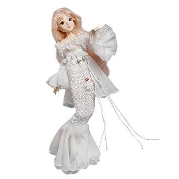MagiDeal 1/6 Anime Konstellation Mädchen Figur Kostüm Minipuppe ...