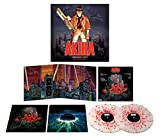 AKIRA NUMBERED RED ORANGE YELLOW SPLATTER 000289
