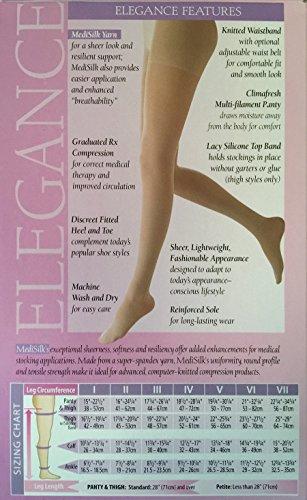 Mediven Elegance Maternity Pantyhose 20-30 Mmhg - Petite or Regular (3 Petite, Sand)