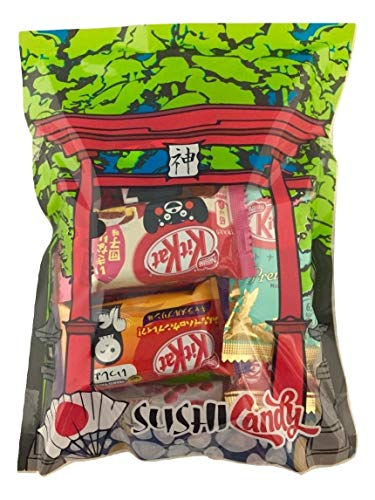 Kit Kat Halloween Orange (30 Japanese KitKat & Tirol Chocolate Assortment Gift box japanese)