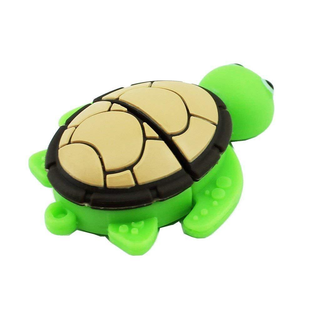 Novelty Tortoise Shape Design 16GB USB 2.0 Flash Drive Cute Memory Stick Sea Turtle Thumb Drive Data Storage Pendrive Cartoon Jump Drive Gift (tortoise-16GB) by QICAIHU (Image #2)