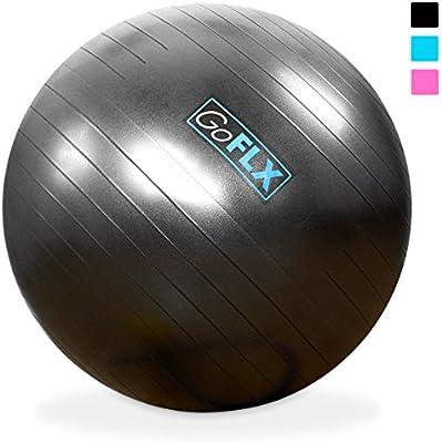 Bola para ejercicio, GoFLX® 55 cm / 65 cm / 75 cm, estabilidad ...