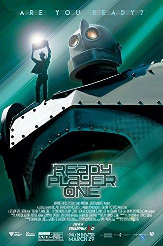 "READY PLAYER ONE 16""x24"" Original Promo Movie Poster Cinemar"