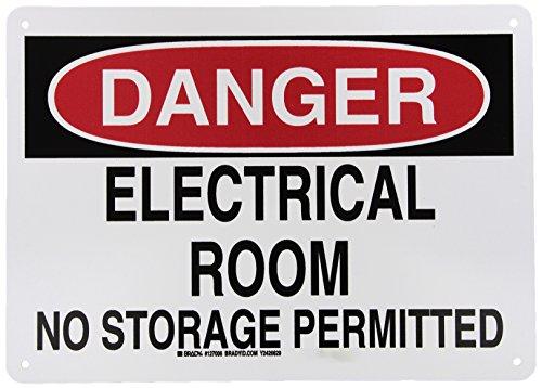 Electrical Hazard Sign - 5