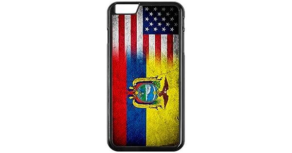 Amazon.com: Carcasa para iPhone 6 Plus, diseño de bandera de ...
