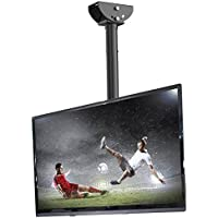Loctek CM1 Adjustable Tilting Wall Ceiling TV Mount Fits most 26-55 LCD LED Plasma Monitor Flat Panel Screen Display