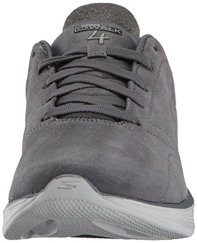 4 Charcoal Walk Go Performance Women's Skechers 7qFOBO