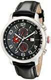 Tommy Hilfiger Men's 1790859 Stainless Steel Watch with Leather Band