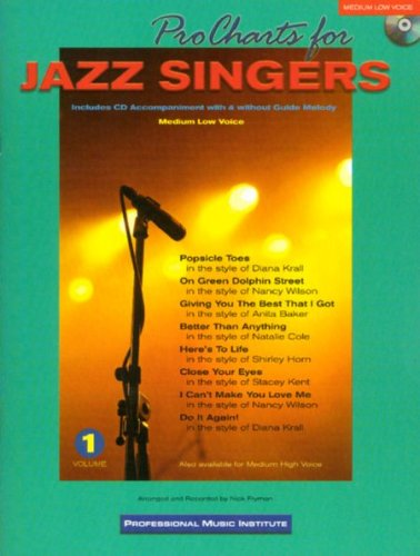 Pro Charts for Jazz Singers (Medium Low) With CD pdf
