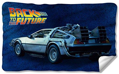 (Back To The Future - Delorean Fleece Blanket 57 x)