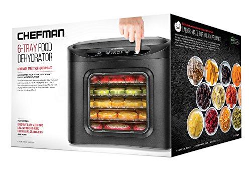 Chefman Food Dehydrator Machine - 6 Tray