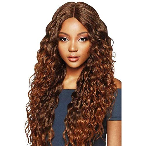 Outre Synthetic Hair Lace Front Wig Swiss lace 6 Deep Parting Amara