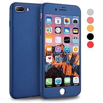Amazon.com: iPhone 7 Plus Case, CANSHN 360 Full Body ...