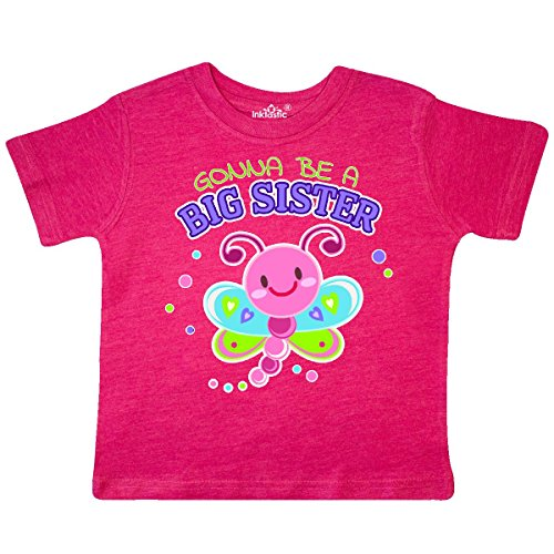 inktastic - Gonna Be a Big Sister- Toddler T-Shirt 3T Retro Heather Pink 30603
