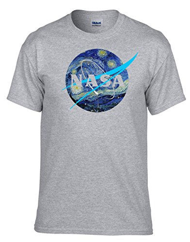 Nasa big bang theory astronaut apollo space shuttle Grau Fun T-Shirt -053 -Grau