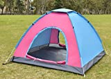 K&A Company Colorful Waterproof Camping Tent Outdoor Hiking 2-3 Persons Blue New Lightweight