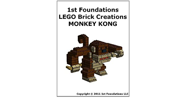 1st Foundations LEGO Brick Creations - Instructions for Monkey Kong