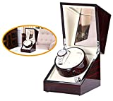 [New Arrival] Love Nest Handmade Wood Automatic Watch Winder Box Double/Dual Watch Winder