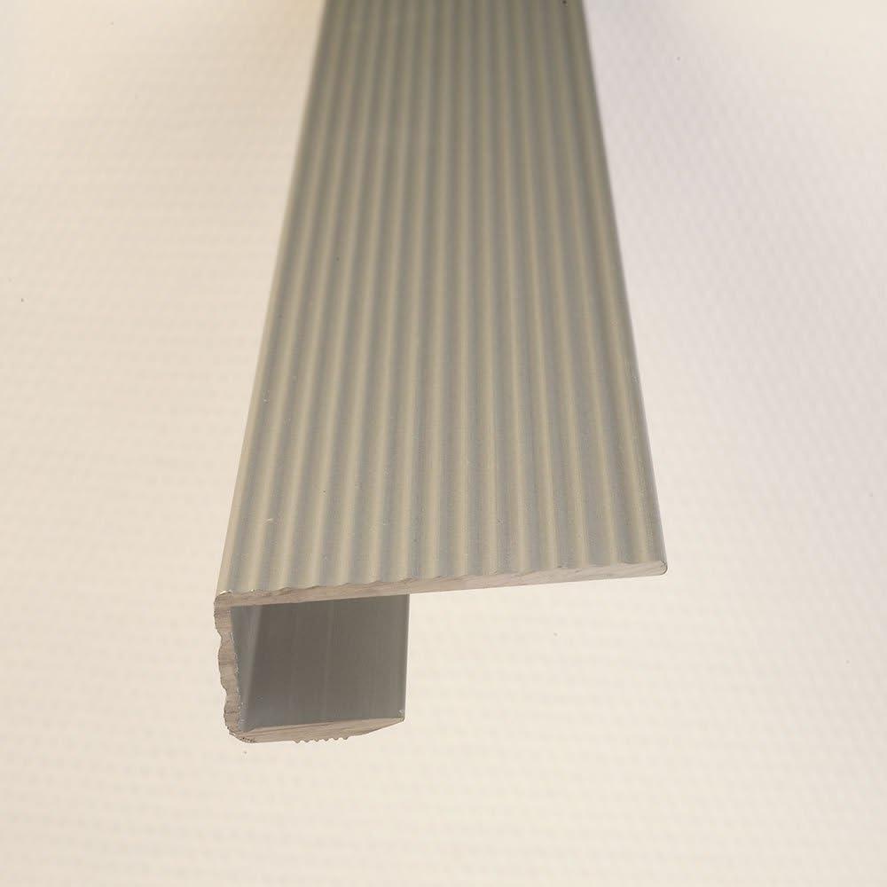 F/ür B/öden 7-15 mm Fussboden Anpassungsprofil 100cm bronze eloxiert